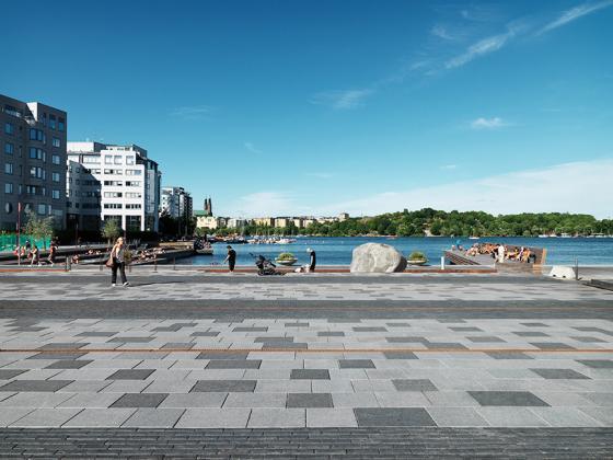 斯德哥尔摩市政广场设计,人与自然和谐相融
