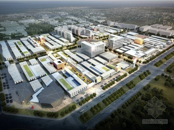 [合集]4套高新科技产业园建筑设计方案文本_4