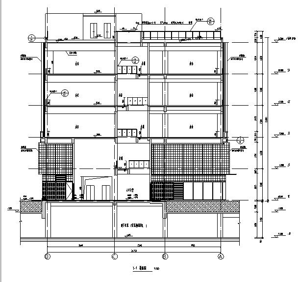 [上海]10个子项目商务办公项目施工图(全专业图纸)_2