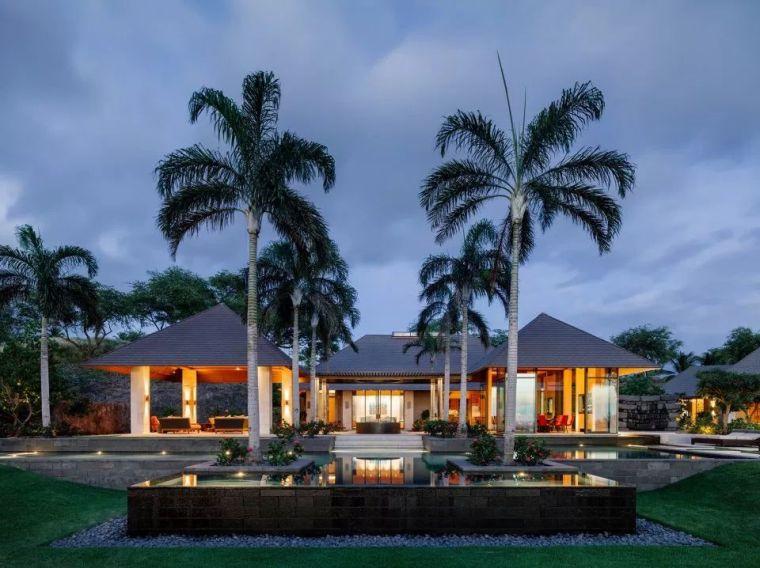 现代艺术建筑的魅力,热带下的Kauhale Kai住宅