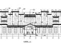 现代徽派酒店建筑施工图