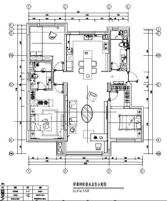 【辽宁】新视觉主义住宅设计施工图(附效果图)_1