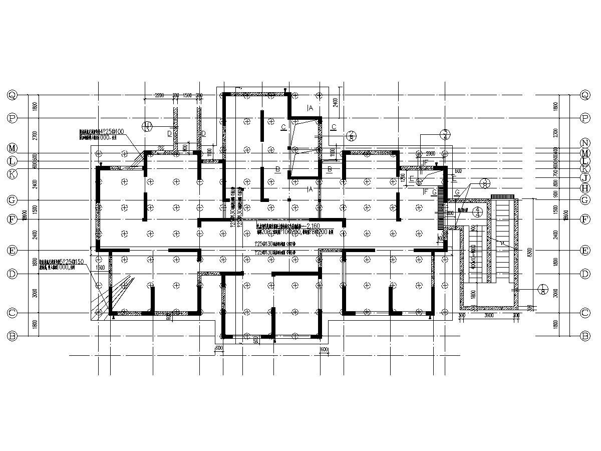 [施工图]11000平30层剪力墙结构住宅楼建筑结构施工图