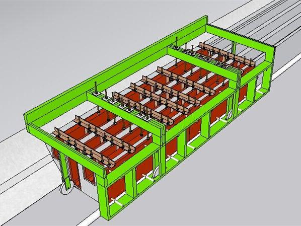 [工艺工法qc]隧道水沟电缆槽移动模架的研制图片