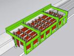 隧道水沟电缆槽移动模架的研制