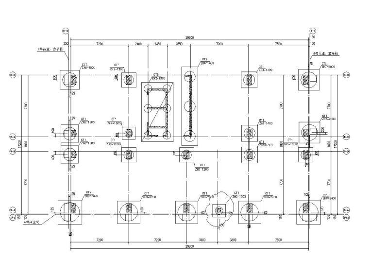 [广东]22层框架剪力墙结构办公楼结构施工图