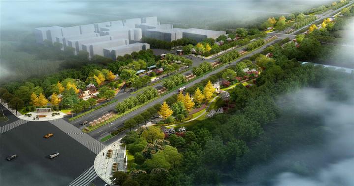 [浙江]生态文化特色道路景观绿化设计方案