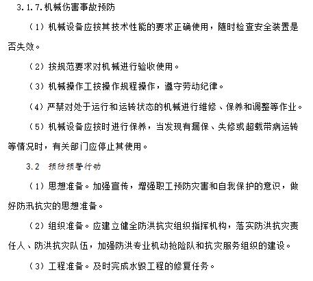 [全国]某工程汛期应急预案(共12页)
