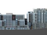 现代风格人民医院建筑设计(CAD+文本).