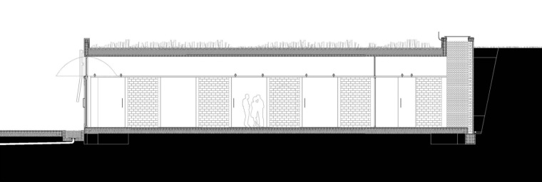 西班牙双曲线拱门形式Mont-Ras酒庄立面图 (9)