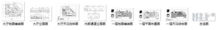 某大型医院门诊、急诊楼室内装修设计施工图(88张)_9