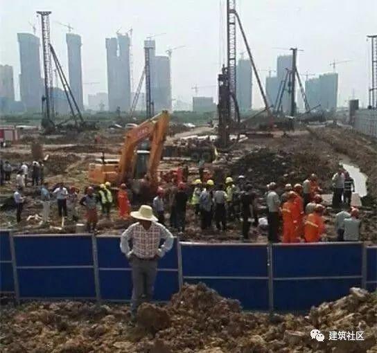 1死2伤!武汉又发塌方事故,基坑施工安全一刻不得放松!
