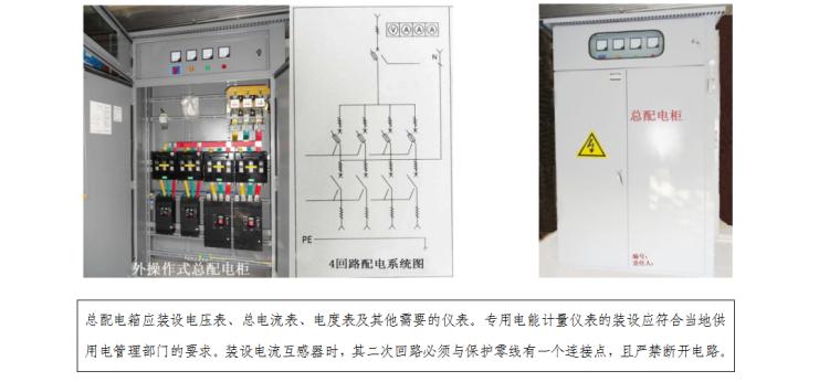 工程项目临时用电施工组织设计