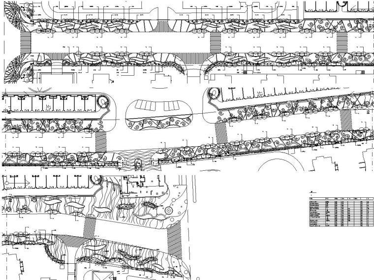 [上海]海月大道景观全套施工图.设计文件(包含cad+52个)