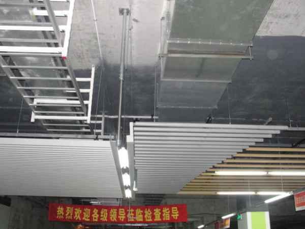 地铁通风空调设计施工现场图片