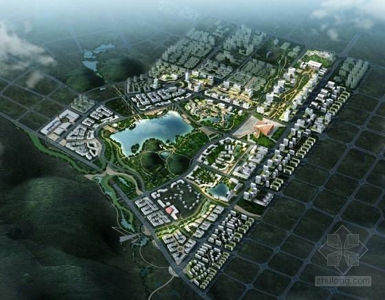 [江苏]南京知名地产区概念规划设计方案文本(知名设计院设计)