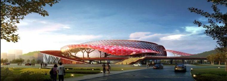 [钢结构·建筑]蚌埠奥体项目的创新设计