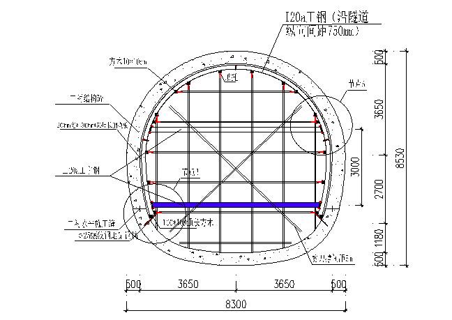 [辽宁]隧道二次衬砌人防段模板支架专项施工方案34页