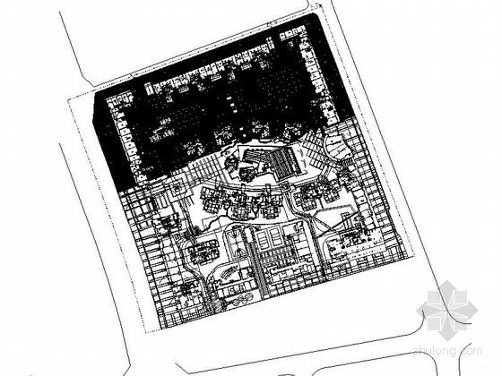 [四川]高层低密度舒适精品居住区设计施工图