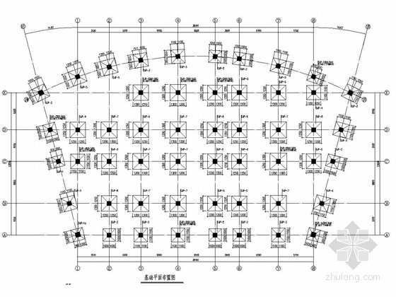 [宁夏]两层框架结构观光旅游园办公辅助用房结构施工图