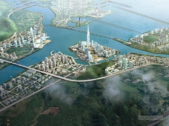 [珠海]现代新型沿海城市景观规划设计方案
