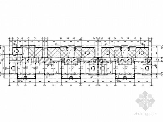 [江苏]七层框架结构住宅楼结构施工图(含建筑图)