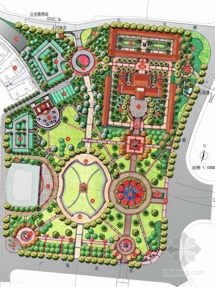 [武汉]纪念性广场景观规划设计方案