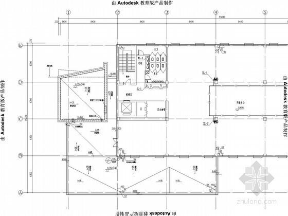 [河北]办公楼给排水及采暖施工图(16年最新设计)