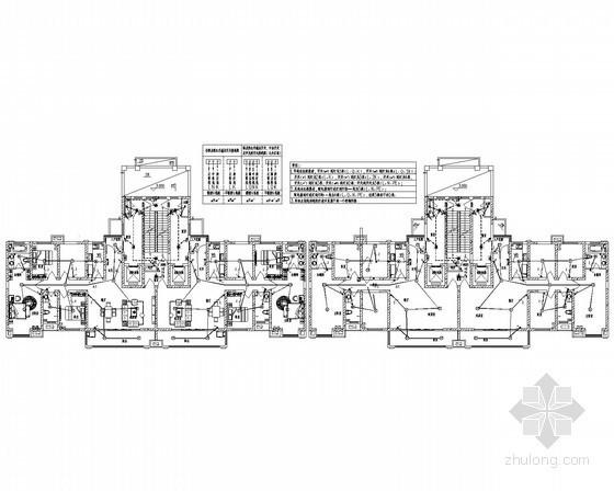 [陕西]33层高层建筑强弱电电施图30张