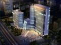 [惠州]现代化框剪结构政府高层办公楼建筑设计方案文本