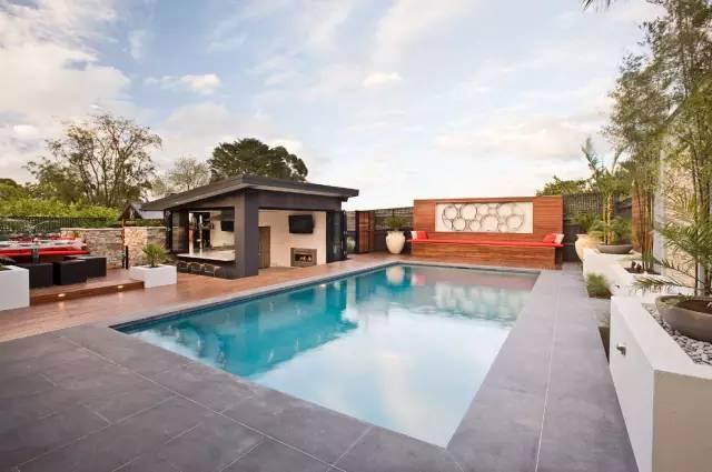 赶紧收藏!21个最美现代风格庭院设计案例_85