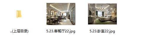 [杭州]欧式两居样板间室内设计施工图(含效果图+实景图)_10