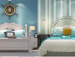 地中海风格卧室3D模型合集(一)