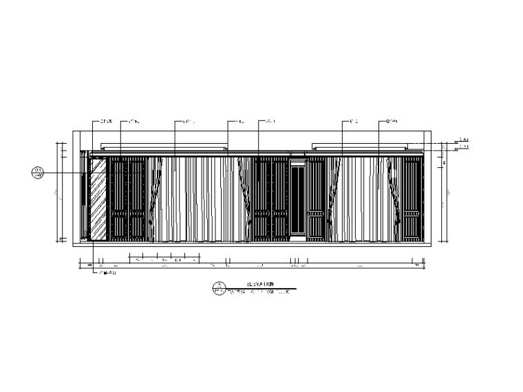 【福建】混搭风格检察院设计CAD施工图(含效果图)_4