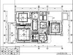 [四川]法式新贵浪漫奢华别墅设计施工图(附效果图+材料表)