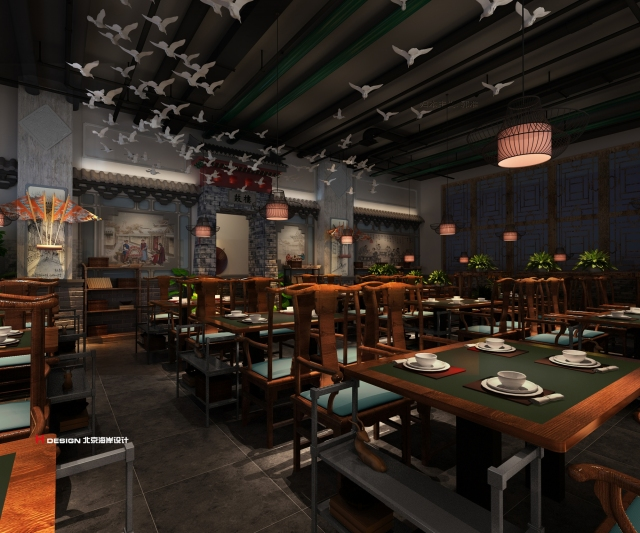 北京福口居餐饮设计方案-北京福口居餐饮设计方案第1张图片