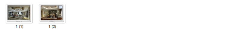 【江苏】两套样板房设计CAD施工图(含效果图)_9