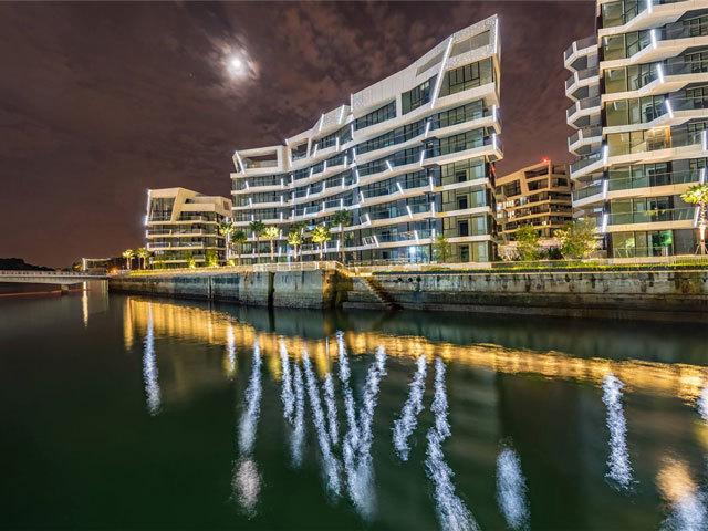 新加坡吉宝湾丽珊景住宅景观设计_15