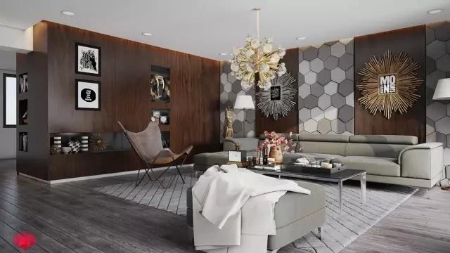 客厅装修必看,最新款客厅背景墙装修图片大全鉴赏_14