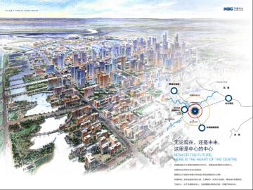 [浙江]宁波中心项目简介及初步设计阶段交通评议分析