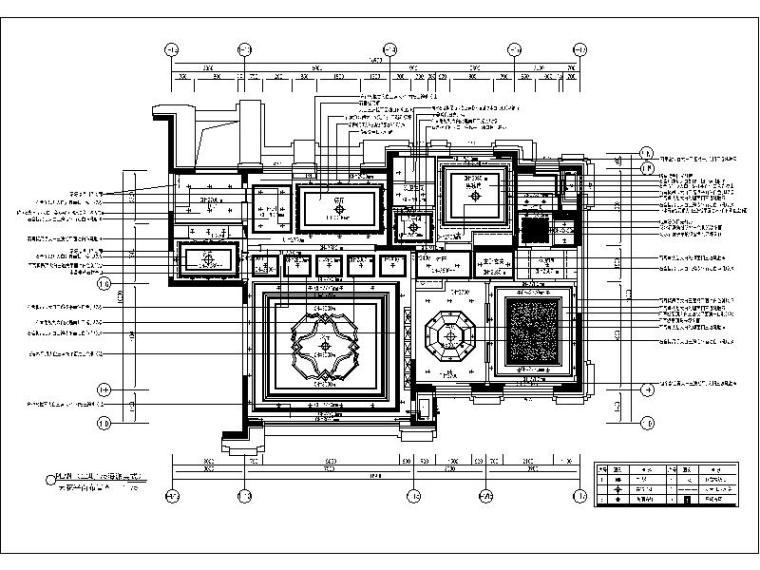 [大连]海派美式风二期样板间设计施工图(含效果图)