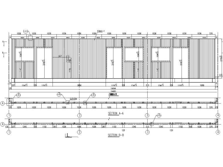 箱体式精装修活动房结构施工图