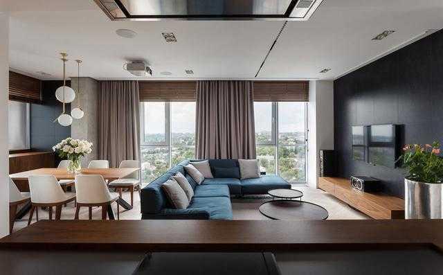 两套房打通重新设计 装修果然高大上