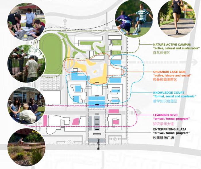 [江苏]传统精致园林高中校园景观规划设计方案_10