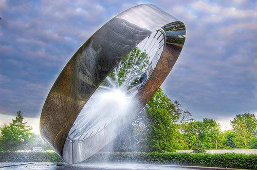 创意十足的园林景观水景设计案例