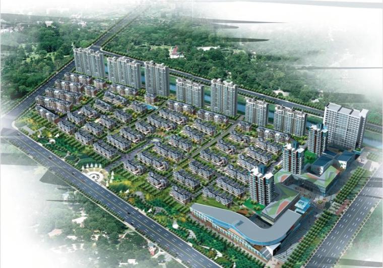 [江苏]三层现代风格住宅小区商业设计方案文本