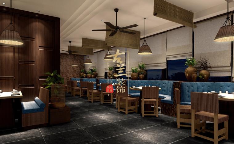 璟府小厨餐厅-成都主题餐厅设计-古兰装饰_10