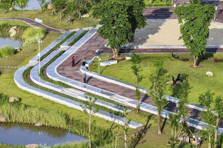 让城市滨水空间回归自然-重庆万州长江二桥滨水生态公园景观设