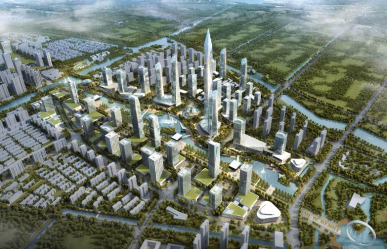 [江苏]常州金融商务区城市规划设计方案文本