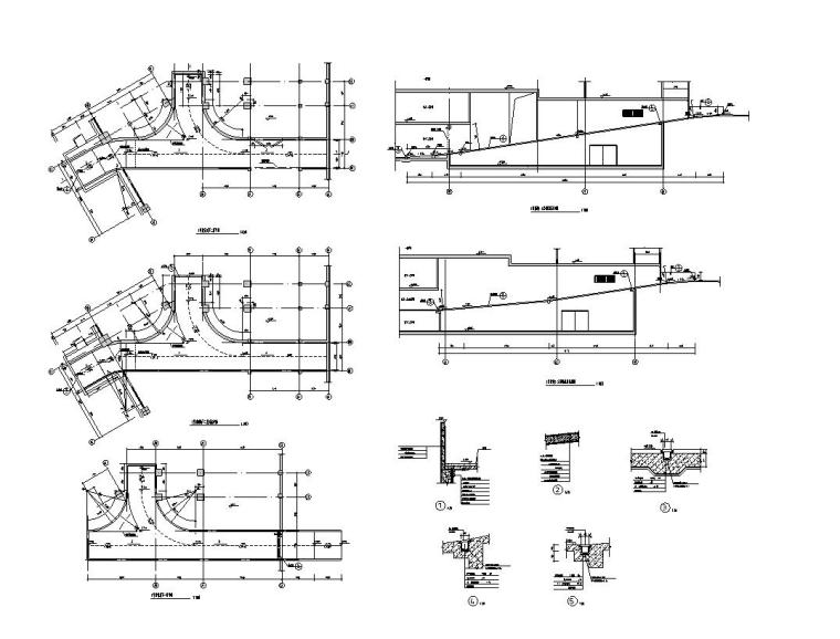 48套台阶坡道构造详图——建筑详图